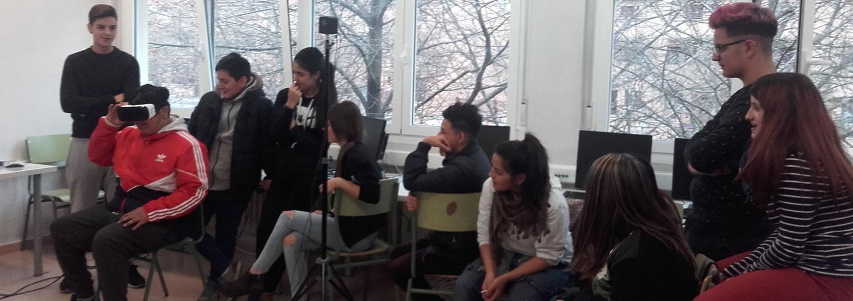 Llevamos la realidad virtual a aulas de FP para formar futuros emprendedores sociales