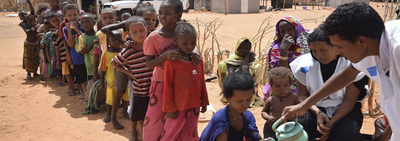 Campo de refugiados Mauritania Agua Higiene