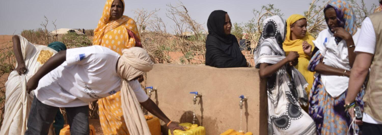 Agua y saneamiento: una realidad para los refugiados de M'berra