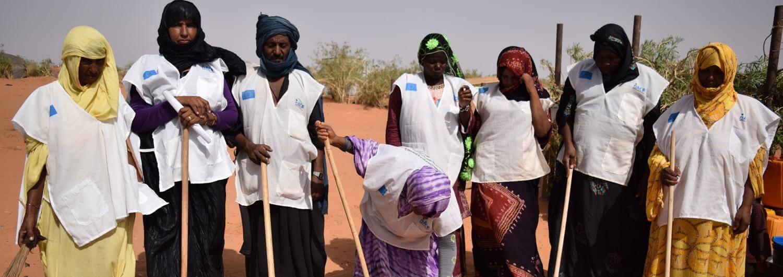 Participación comunitaria: los refugiados de M'berra son conscientes de sus derechos