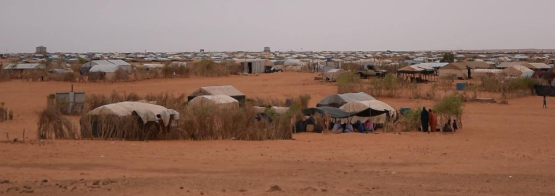 Cuarta y última parada por el campo de M'berra. Descubrimos las historias de aquellos refugiados que han hecho del agua su principal medio de vida