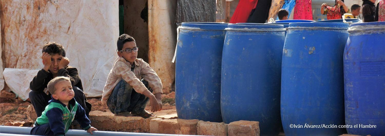 Día mundial del Agua: Hemos permitido a más de 1.500 personas refugiadas en el valle de la Bekaa disponer de un sistema de tratamiento de aguas negras y grises