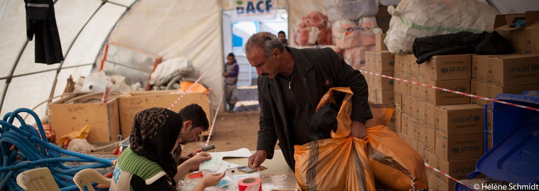 La ayuda humanitaria, último recurso para más de 60 millones de personas