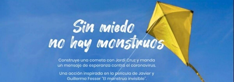"""Lanzamos junto a los Fesser y Jordi Cruz el I concurso """"Cometas contra monstruos"""""""