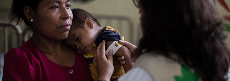 La COVID-19 duplica el número de personas sin alimentos en Guatemala