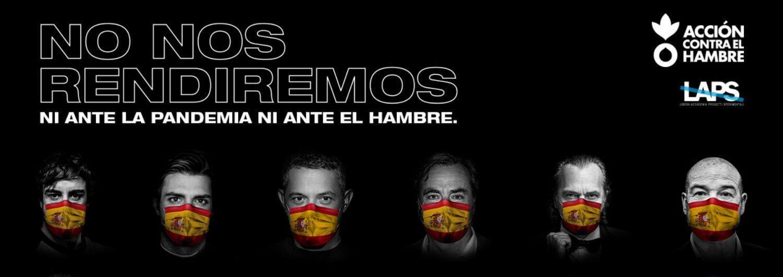#NoNosRendiremos: la campaña de deportistas y artistas contra la COVID-19 en España