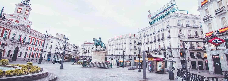 Madrid en pausa. El mundo en pausa.