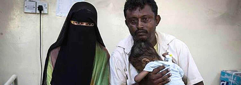 Yemen: 5 millones de personas al borde de la hambruna