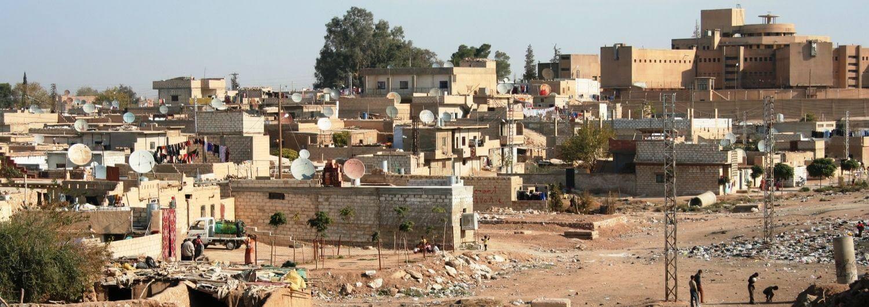 Barrio de la ciudad de Hassakeh