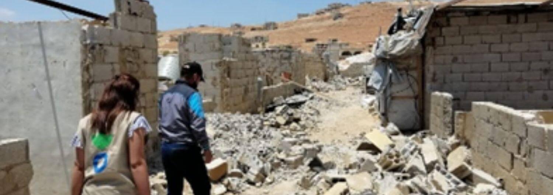 Líbano: el desmantelamiento de viviendas empeora la situación de la población siria