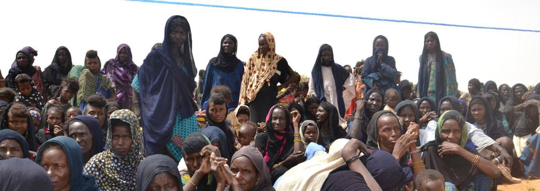 Este año hemos desplegado distribuciones de emergencia en Níger para las personas desplazadas