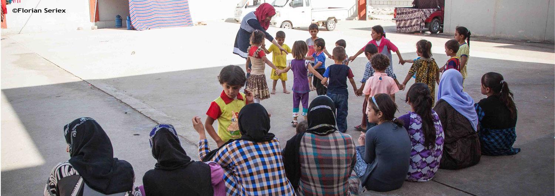 Oriente próximo: Apoyamos a las víctimas del conflicto para superar su impacto psicosocial