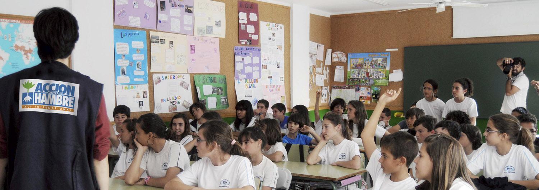 Acercamos a 210 colegios de toda España las soluciones del hambre