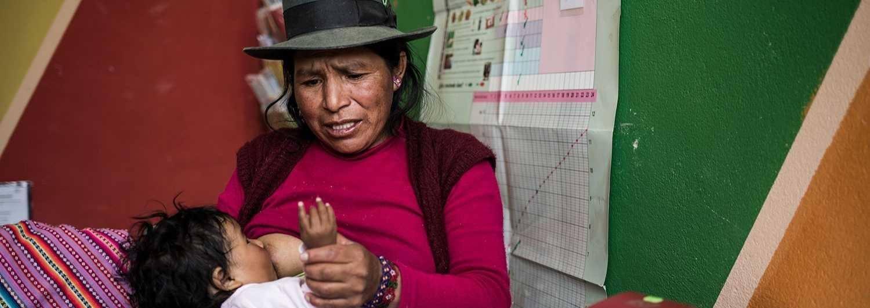 La anemia infantil en Perú afecta principalmente a la población de las zonas rurales.