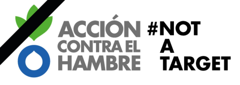 Logotipo de Acción contra el Hambre Not a Target