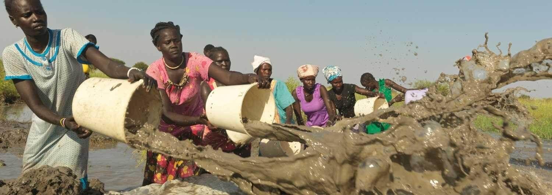 Sudán del Sur: Sube el agua, aumenta el hambre
