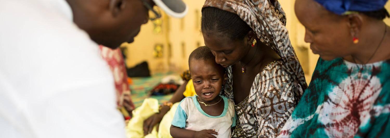 Mauritania, desnutrición, niño, tratamiento