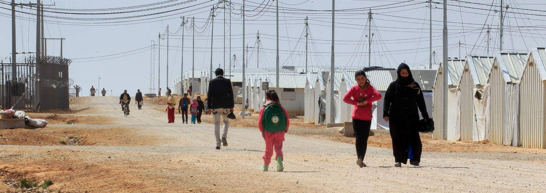 Jordania, refugiados, Siria