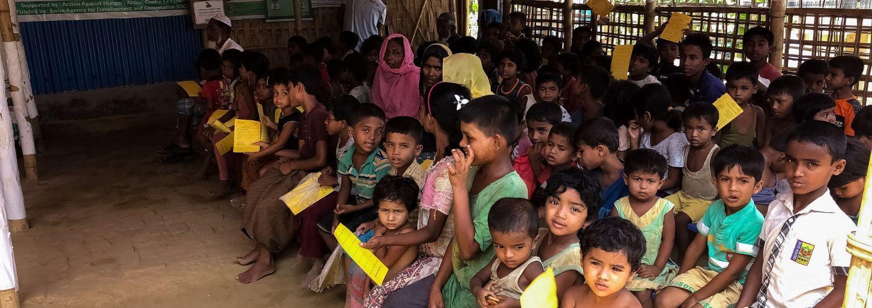 rohingya, Bangladesh, desnutrición, refugiados