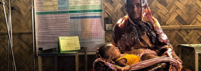 lactancia materna, desnutrición, Bangladesh, refugiados, rohingya
