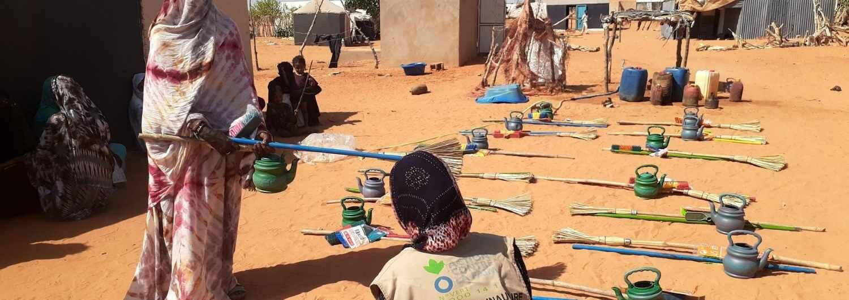 Mauritania: higiene básica contra la COVID-19