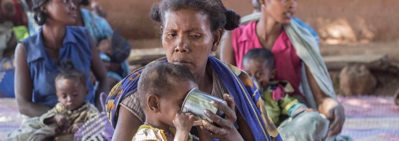 Madagascar: el hambre se extiende por el sur de la isla