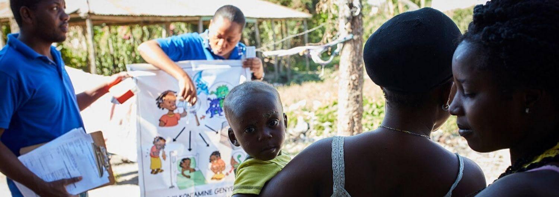 Desde Acción contra el Hambre lideramos la prevención del cólera en las zonas más afectadas por la epidemia.