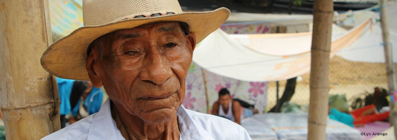Otto Celestino ha sobrevivido a tres terremotos en Ecuador
