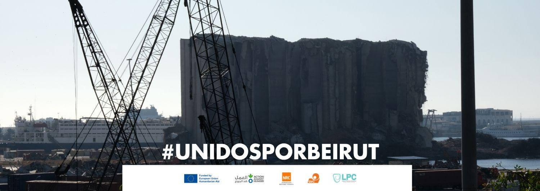 Se cumple un año desde la explosión de Beirut. Imagen de la portada: Zaynab Mayladan para NRC